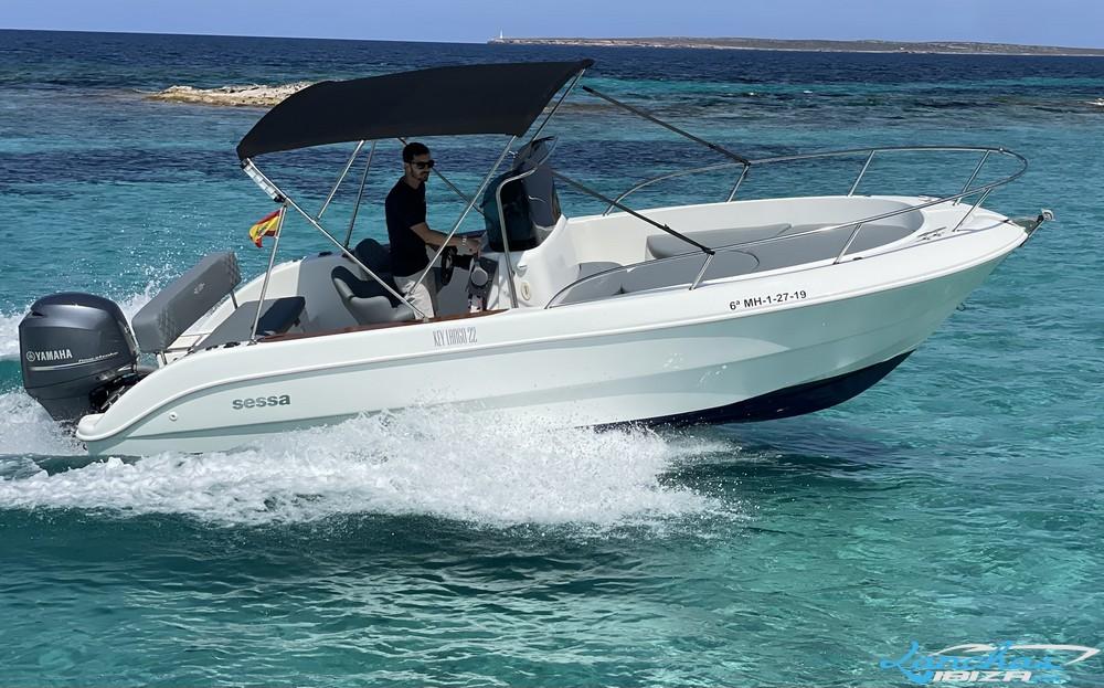 Lanchasibiza.com Key Largo 22 Open