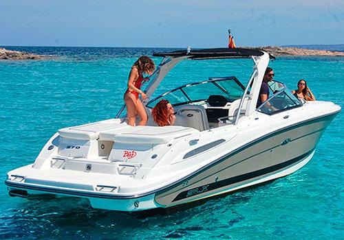 Lanchasibiza.com - Alquilar una lancha para navegar en Ibiza